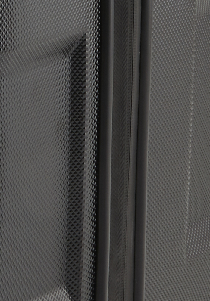 Titan X2 Shark Skin 4w L Black shark Vydajte sa podľahnúť krásam svetových metropol s kultovým kufrom Titan X2 v novom dizajne s výraznými hranami a nechajte sa rozmaznávať komfortom aj extra priestorom pre všetko potrebné i v čase, keď ste ďaleko od domova.  - štyri extra veľké, tiché a odolné Hinomoto dvojkolieska otočné o 360 ° - exkluzívne navrhnutý integrovaný štvormiestny TSA zámok - vodeodolný zips s pogumovaním chráni pred vlhkosťou - odľahčená hliníková rukoväť s aretáciou - hrubá povrchová úprava chráni pred poškriabaním - pevné a ploché madlá pre ľahšie uchopenie - obojstranný baliaci systém s popruhmi v oboch častiach - integrovaná deliaca priečka na zips - dve vnútorné vrecká na zips - výrazné logo Titan na prednom paneli - škrupina z pružného polykarbonátu sa pri tlaku prehne - predĺžená záruka 3 roky