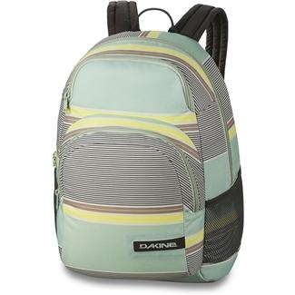 Dakine Hana 26L Kona Stripe Jednoduchý mestský batoh, ktorý možno nosiť do školy, využiť na šport i na cestovanie.- dve vrecká so zapínaním na zips- malé vrecko vystlané fleecom, vhodné napr.