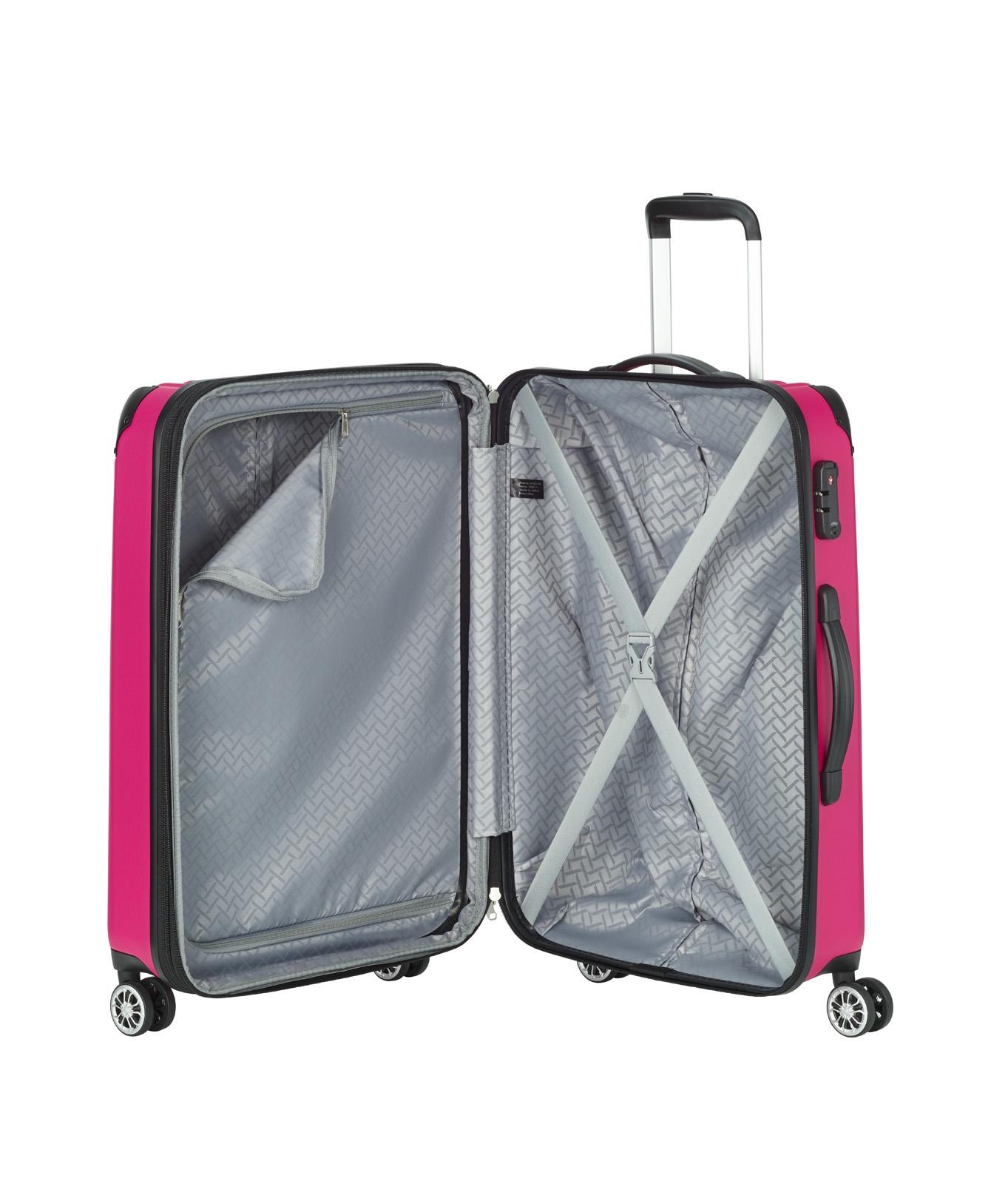 Travelite City 4w M Berry Hľadáte kvalitnú batožinu, ktorá vám ponúkne viac než len krytie a praktickú výbavu na cesty?