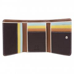 Mywalit Medium Tri-fold Wallet Mocha