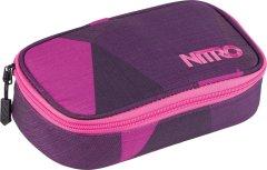 Nitro Pencil case XL Fragments purple
