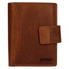 Lagen Dámska peňaženka kožená 3808/V Hnedá