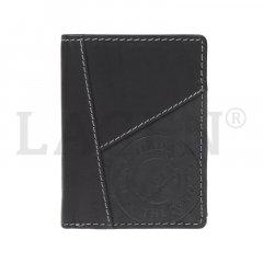 Lagen Pánska peňaženka kožená 51145 Čierna