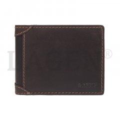 Lagen Pánska peňaženka kožená 511461 Hnedá