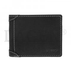 Lagen Pánska peňaženka kožená 511462 Čierna