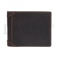 Lagen Pánska peňaženka kožená 511462 Hnedá