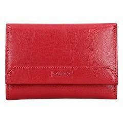 Lagen Dámska peňaženka kožená LG 11/B Červená