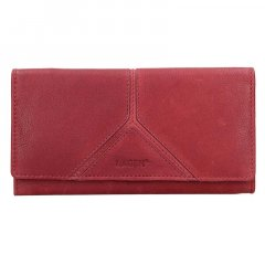Lagen Dámska peňaženka kožená 51454 Červená