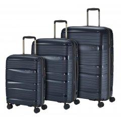 Travelite Motion S,M,L Navy – súprava 3 kufrov