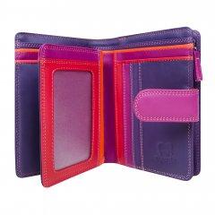 Mywalit Medium 10 C/C Wallet w/Zip purse Sangria Multi