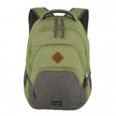 Travelite Basics Backpack Melange Green/grey