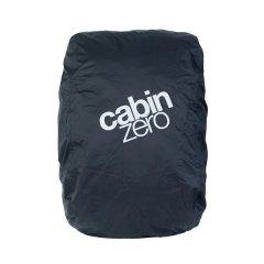 CabinZero Adventure Absolute Black pláštěnka na batoh