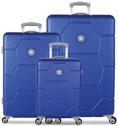SUITSUIT TR-1225/3 súprava 3 kufrov ABS Caretta Dazzling Blue