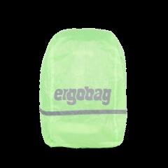 Ergobag Pršiplášť na batoh fluorescenčný zelený