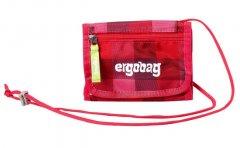 Ergobag Peňaženka purpurová károvaná
