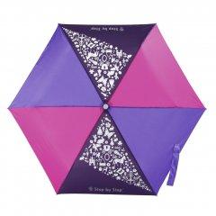 Detský skladací dáždnik ružové / fialová / modrá