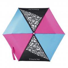 Detský skladací dáždnik čierna / červená / modrá