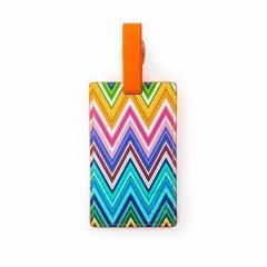 Heys Luggage Tag Colour Herringbone
