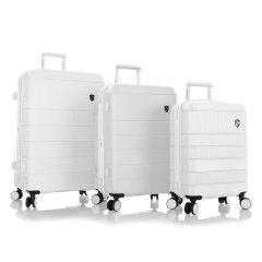 sada skořepinových kufrů Heys Neo S,M,L White