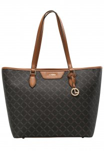 L.CREDI Filiberta Tote Bag Brown