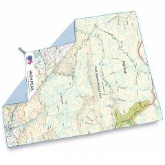 Lifeventure SoftFibre OS Map Towel High Peak