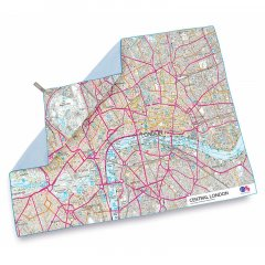 Lifeventure SoftFibre OS Map Towel Central London