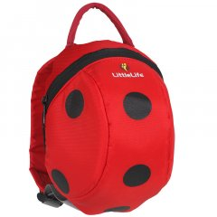 LittleLife Animal Toddler Backpack ladybird