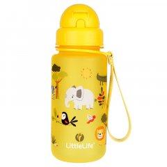 LittleLife Water Bottle 400ml safari