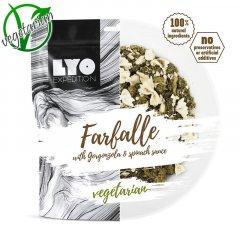 LYOfood Cestoviny s gorgonzolou a špenátom bežná porcia
