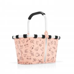Reisenthel Carrybag XS Kids Cats and dogs ruže