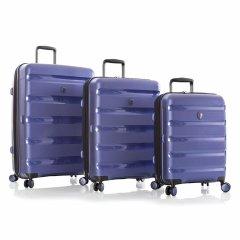 Heys Metallix Cobalt Blue S,M,L – súprava 3 kufrov