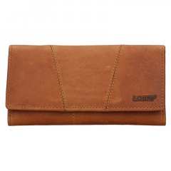 Lagen Dámska peňaženka kožená PWL-388/V Hnedá
