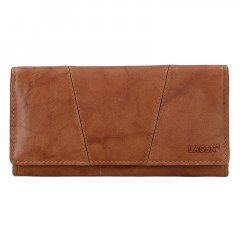 Lagen Dámska peňaženka kožená PWL-388 Béžová