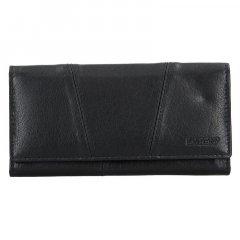 Lagen Dámska peňaženka kožená PWL-388 Čierna