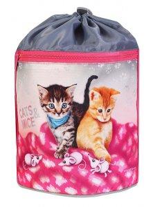 Emipo Športové vrecko Cats & Mice
