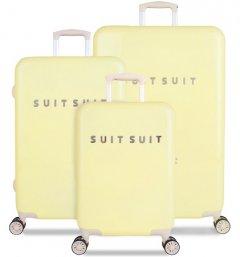 SUITSUIT TR-1220/3 súprava 3 kufrov ABS Fabulous Fifties Mango Cream
