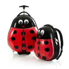 Heys Travel Tots Lightweight Kids Lady Bug – súprava batoha a kufra