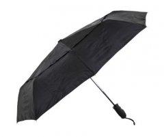 Lifeventure Trek Umbrella Medium Black