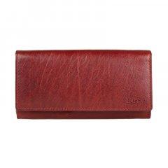 Lagen Dámska peňaženka kožená V-102/T Červená