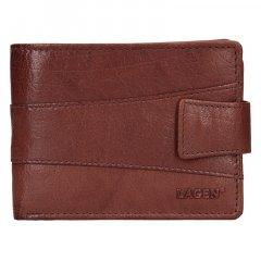Lagen Pánska peňaženka kožená V-98 Hnedá