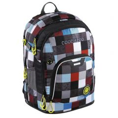 Coocazoo Rayday Checkmate Blue Red