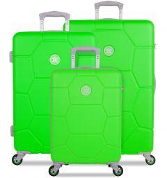 SUITSUIT TR-1251/3 Caretta Active Green – súprava 3 kufrov