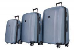 Titan Xenon S,M,L - súprava 3 kufrov Blue Stone