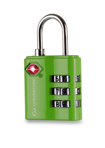 Lifeventure TSA Combi Lock green
