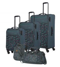 Travelite Argon S,M,L + Backpack + Duffle Dots