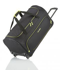 Travelite Basics Fresh Wheeled Duffle Black