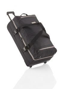Travelite Basics Doubledecker on wheels Black