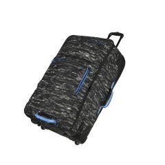 Travelite Basics Doubledecker Black print