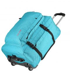 Travelite Basics Trolley Backpack Turquoise print