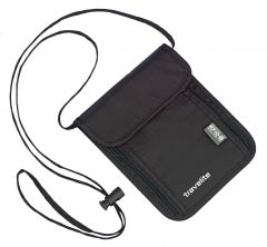 Travelite Neck pouch RFID Black